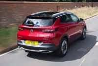 2017 Vauxhall Grandland X, Vauxhall Grandland X rear driving, gallery_worthy
