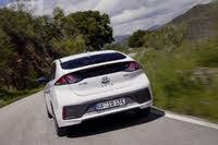 2017 Hyundai IONIQ, 2017-2020 Hyundai IONIQ white, rear, driving, gallery_worthy