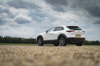 2019 Mazda CX-30, 2019-2020 Mazda CX-30 white, rear three-quarters, static, gallery_worthy