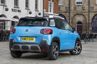 2017 Citroen C3 Aircross, 2017-2020 Citroen C3 Aircross blue, rear three-quarters, static, gallery_worthy